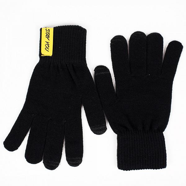 Перчатки TRUESPIN Don't Touch Gloves (Black, O/S) куртка truespin s parka black 2xl