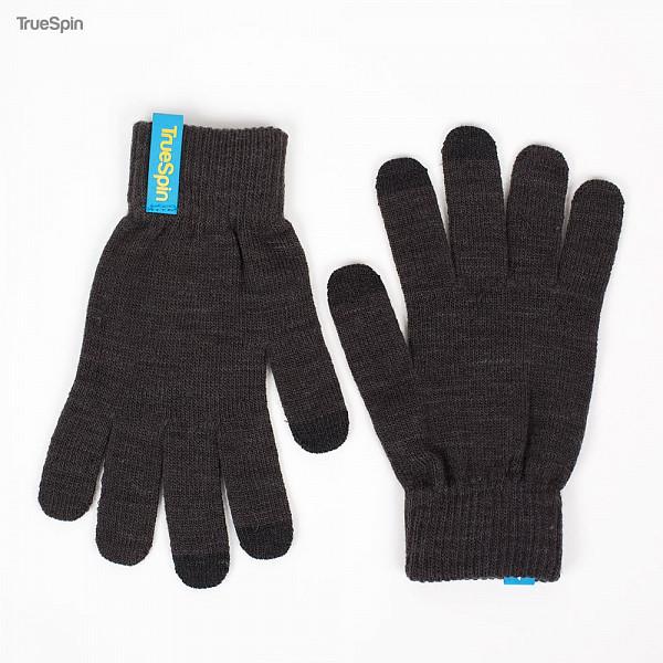 Перчатки TRUESPIN Touch Glove (Grey, O/S) перчатки truespin touchgloves sand
