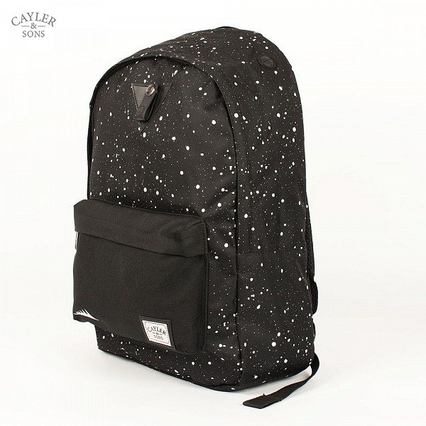цена  Рюкзак CAYLER & SONS Dippin Downtown Backpack (Black-White)  онлайн в 2017 году