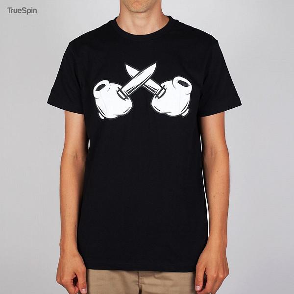 Футболка TRUESPIN Criminal Mind Knives (Black, 2XL) куртка truespin s parka black 2xl
