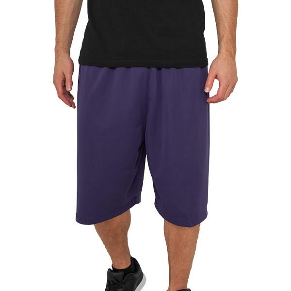 Шорты URBAN CLASSICS Bball Mesh Shorts (Purple, S)
