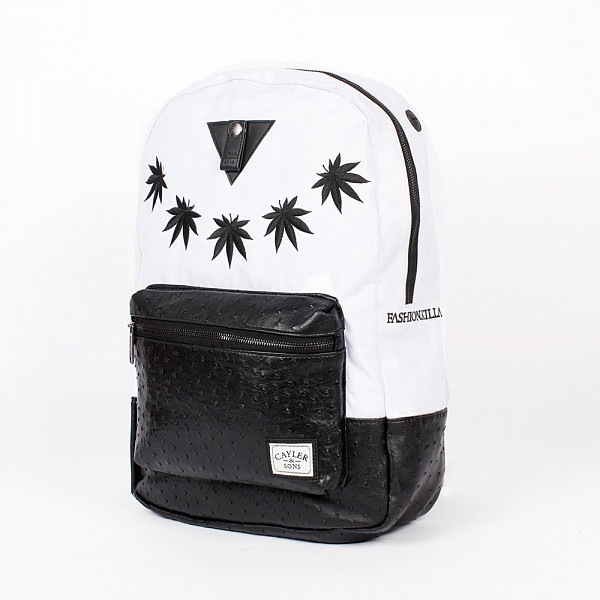 цена  Рюкзак CAYLER & SONS Fashion Killa Uptown Backpack (White/Black)  онлайн в 2017 году