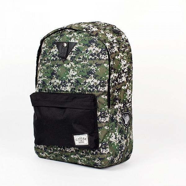 цена  Рюкзак CAYLER & SONS Marcy Downtown Backpack (Digi Camo/Black Denim)  онлайн в 2017 году
