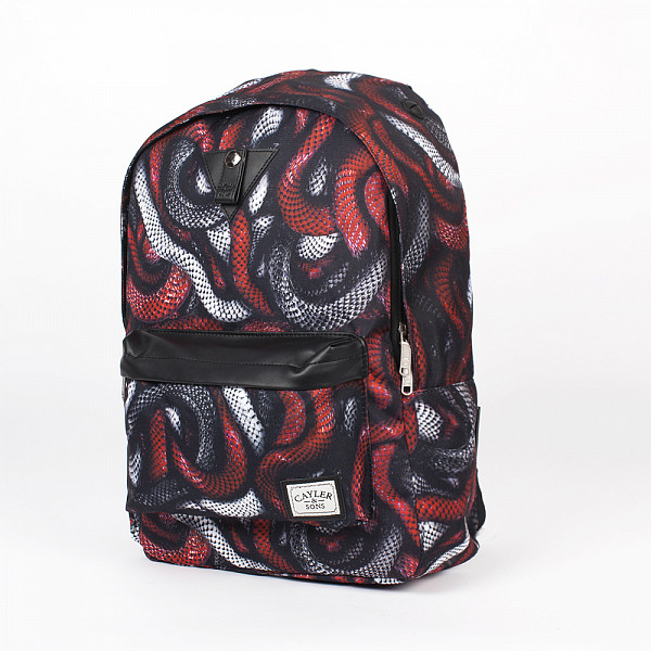 цена  Рюкзак CAYLER & SONS Milano Downtown Backpack (Red Snakes/Black)  онлайн в 2017 году