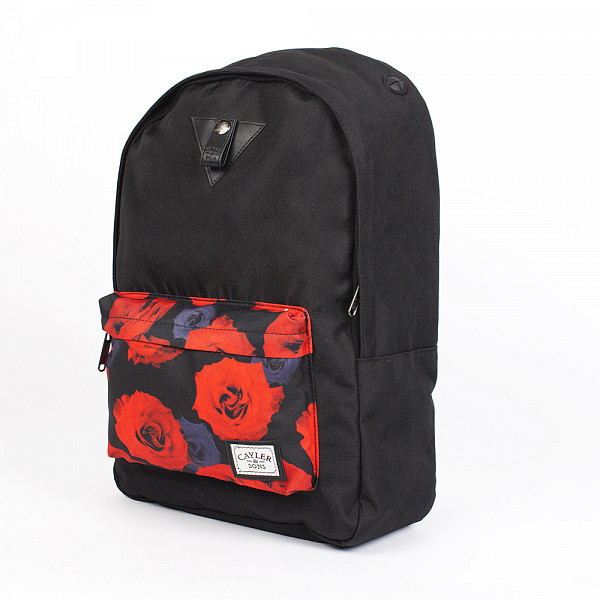 Рюкзак CAYLER & SONS Roses Downtown Backpack (Black/Red Roses) feidu brand hot fashion sunglasses женщины brand designer стимпанк 2015 summer retro покрытия vintage round sun glasses