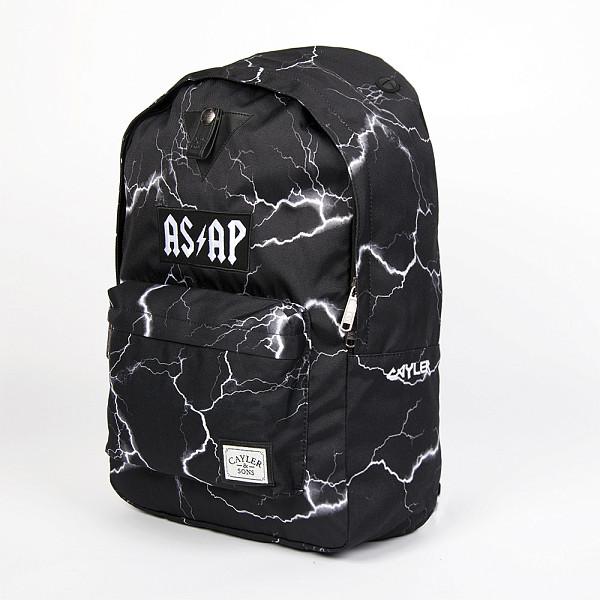 цена  Рюкзак CAYLER & SONS Voltage Downtown Backpack (Black-White)  онлайн в 2017 году
