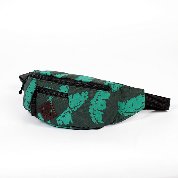 Сумка TURBOKOLOR Hip-Bag SS14 (Green-Palm-Print)