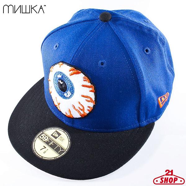 Бейсболка MISHKA Keep Watch New Era SP121705E (Royal, 7 1/8) бейсболка mishka new era throwback grey red 7 3 4
