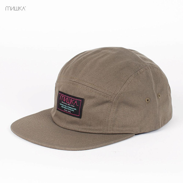 Бейсболка MISHKA Scout 5-Panel HO131717G (Army-Green, O/S) masters scout tour green