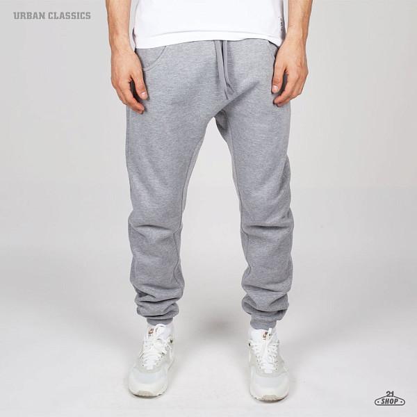 Брюки URBAN CLASSICS Deep Crotch Sweatpants (Grey, XS)