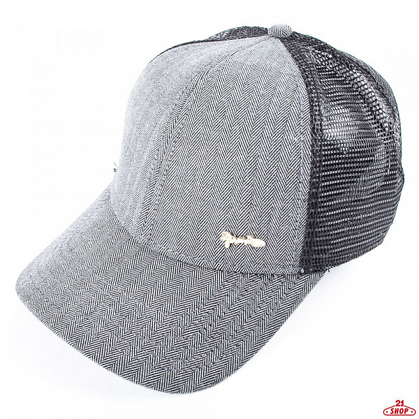 Бейсболка DJINNS Lft Harris Tweed (Black, O/S) sterkowski harris tweed 8 panel gatsby classic flat cap