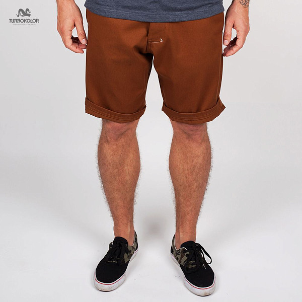 Шорты TURBOKOLOR Chino Shorts SS13 (Brown, 32)
