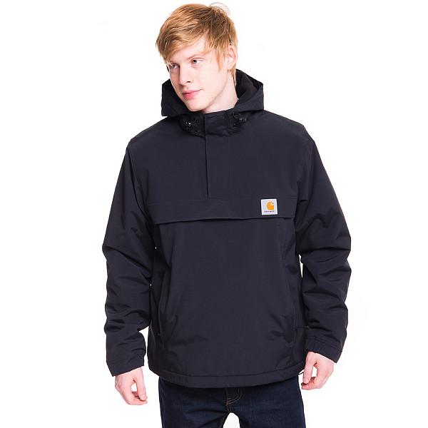 Анорак CARHARTT Nimbus Pullover (Black, XL) шорты carhartt wip i010722 navy rinsed