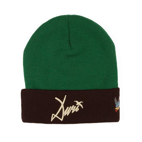 Шапка ЗАПОРОЖЕЦ Ditch FW17 (Dk.Green/Brown) шапка запорожец zap classic logo sky brown yellow