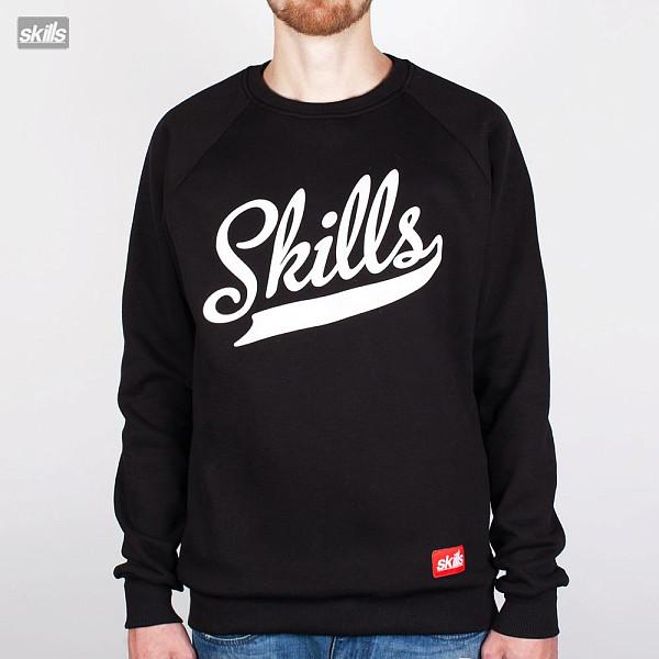 Толстовка SKILLS Script Logo (Black, M) шапка skills script fw15 black