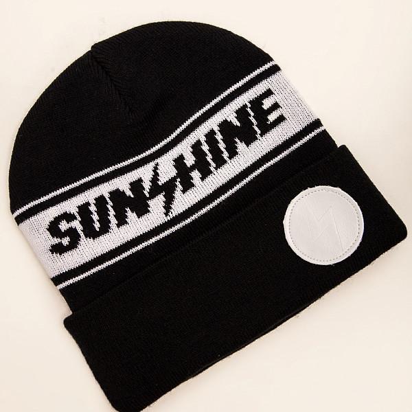 Шапка TRUESPIN Sunshine Classic Beanie (Black/White)