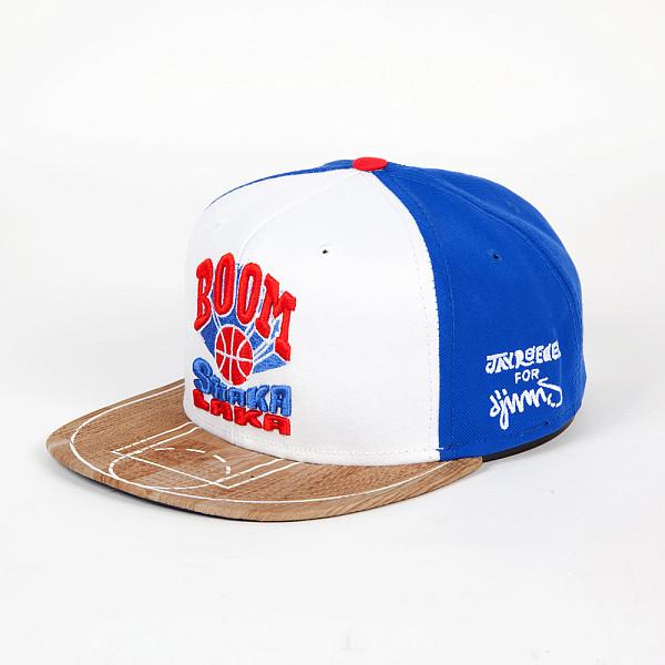 Бейсболка DJINNS 6P Snapback Shaka Laka (White, O/S)