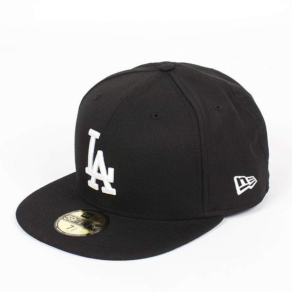 Бейсболка NEW ERA MLB Basic Losdod (Black, 7)