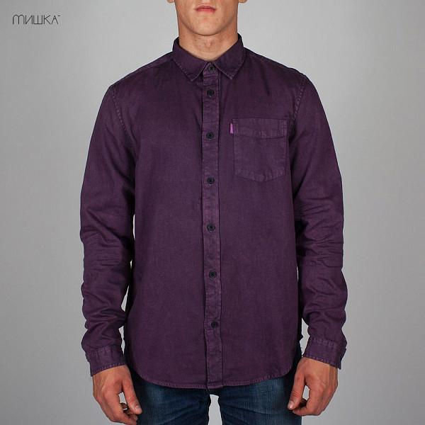 Рубашка MISHKA Acid Rain (Purple-Rain, S)