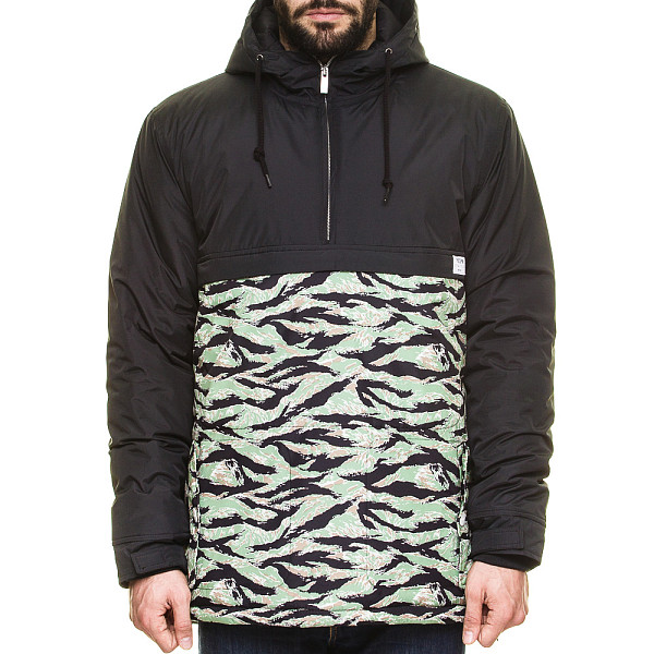 Анорак TRUESPIN Fishtail Anorak (Black/Camo, 2XL) куртка парка truespin fishtail burgundy