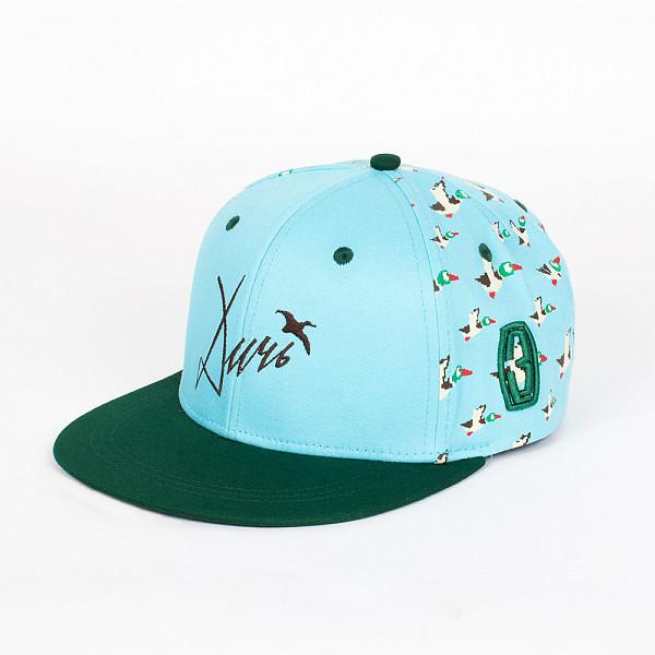 Бейсболка ЗАПОРОЖЕЦ Дичь 86 Бит Снэп SS15 (Mint/Green, O/S) запорожец кепка запорожец ялта снэп ss15