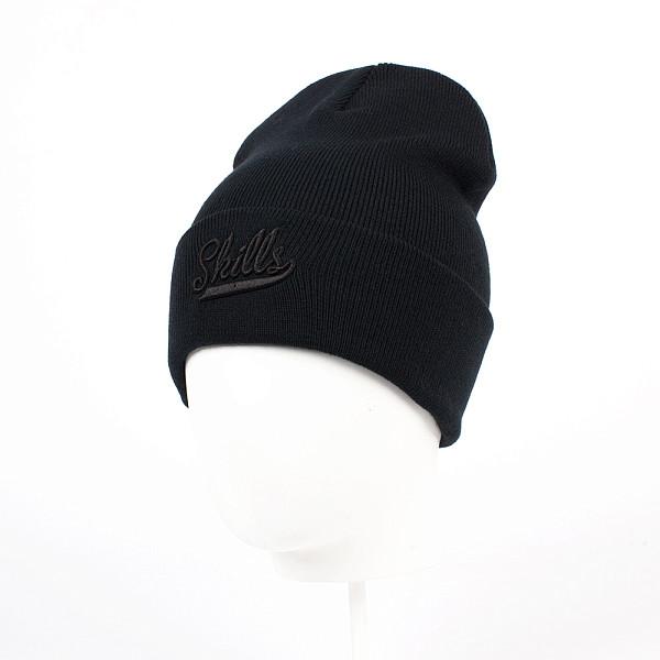 Шапка SKILLS Script FW15 (Black/Black) шапка skills script fw15 black
