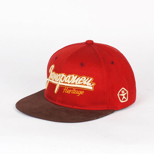 Бейсболка ЗАПОРОЖЕЦ Классическая Снэп (Red, O/S) запорожец кепка запорожец ялта снэп ss15