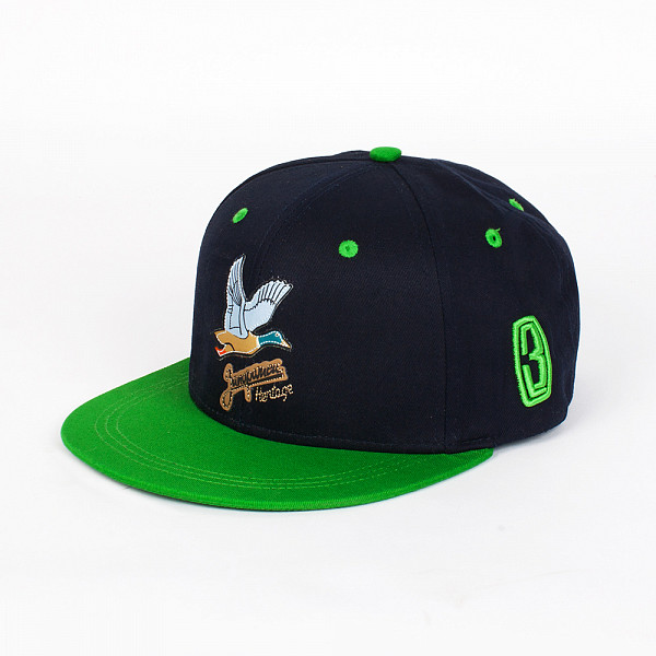 Бейсболка ЗАПОРОЖЕЦ Дичь Logo (Navy/Green, O/S)