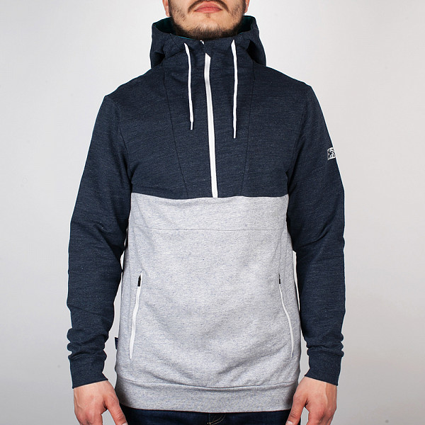 рубашка беговая bjorn daehlie half zip pure Толстовка MAZINE Male Half Zip Hoody 01 (Neo-Blue-Mel-Neo-Gr, S)