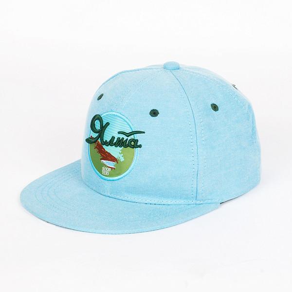 Бейсболка ЗАПОРОЖЕЦ Ялта Снэп SS15 (Blue, O/S)
