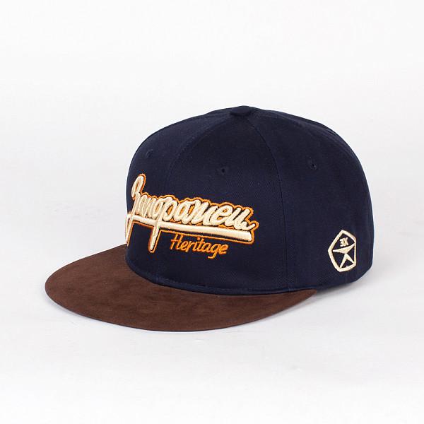 Бейсболка ЗАПОРОЖЕЦ Классическая Снэп SS15 (Blue, O/S) запорожец кепка запорожец ялта снэп ss15