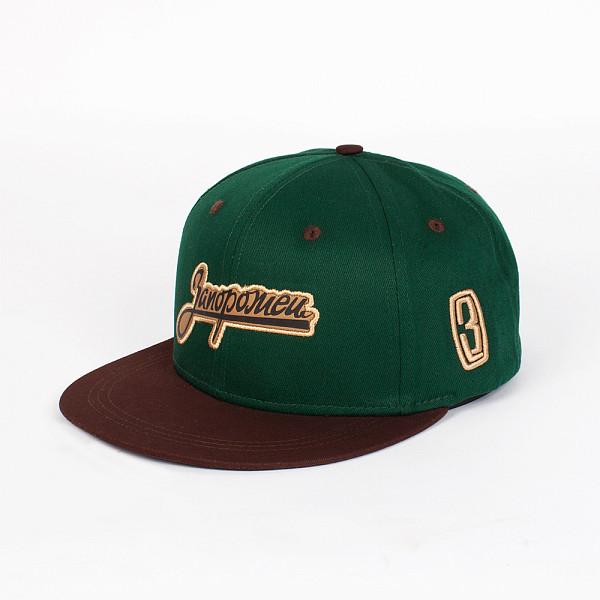 Бейсболка ЗАПОРОЖЕЦ Zap Logo (Green/Brown, O/S) шапка запорожец zap classic logo sky brown yellow