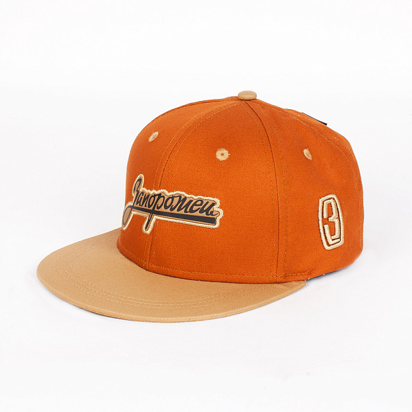 Бейсболка ЗАПОРОЖЕЦ Zap Logo (Brown/Beige, O/S) шапка запорожец zap classic logo sky brown yellow