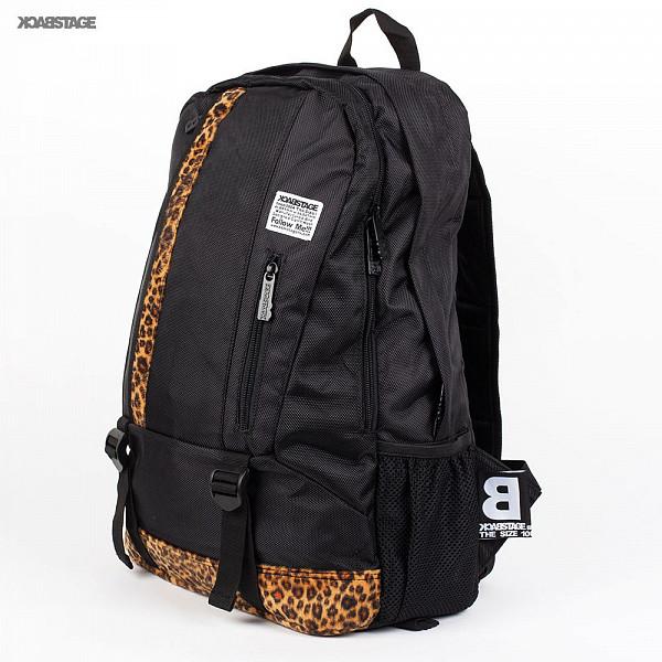 Рюкзак BACK STAGE 2323 (Black-Leopard) рюкзак back stage 2729 galaxy rose