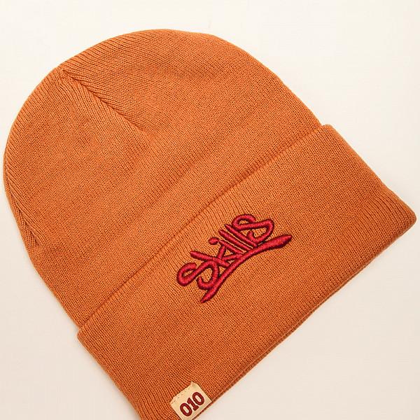 Шапка SKILLS 001 Beanie FW14 (Orange) skills шапка skills 001 yellow