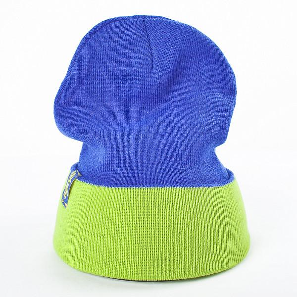 шапка носок neff daily reversible blue red Шапка SKILLS Reversible Beanie (Royal-Lime)