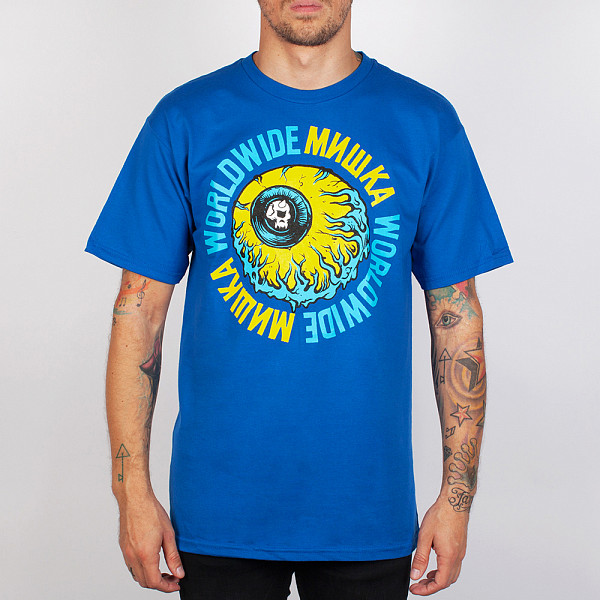 Футболка MISHKA Lamour Ring Of Hell Kw Tee (Royal-Blue, L)