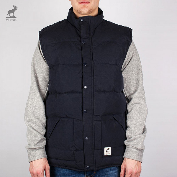 Жилет FAT MOOSE Canada Vest (Navy, L) fat moose ветровка fat moose модель 280200559