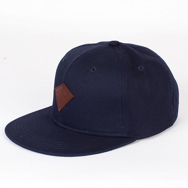 Бейсболка ЗАПОРОЖЕЦ Дефицит Снэп (Deep-Blue, O/S)