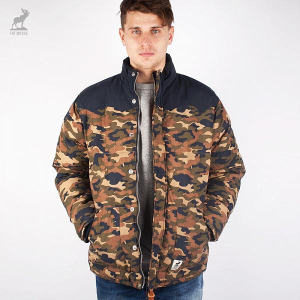 Куртка FAT MOOSE Canada (Camo, 2XL) куртка fat moose mountain black l