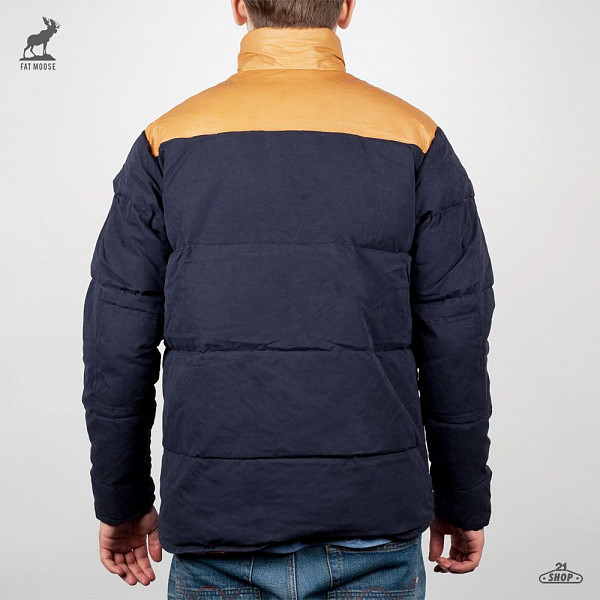 Куртка FAT MOOSE Lumber (Navy, L) fat moose ветровка fat moose модель 280200559