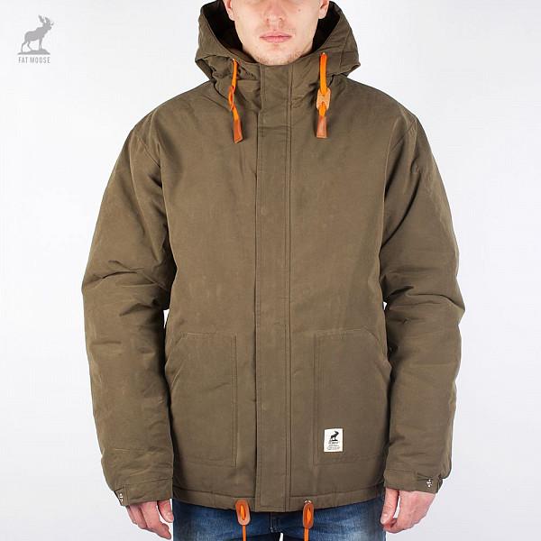 Куртка FAT MOOSE Sailor (Army-Orange, XL) fat moose ветровка fat moose модель 280200559