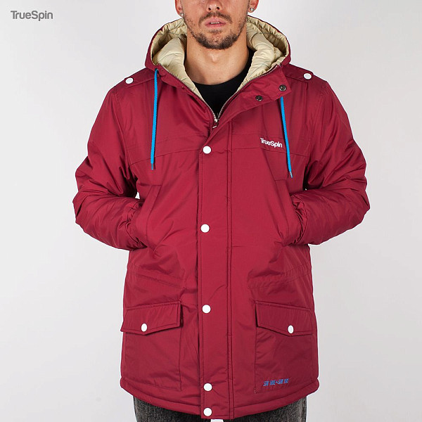 Куртка TRUESPIN Fishtail (Burgundy, S) куртка парка truespin fishtail burgundy