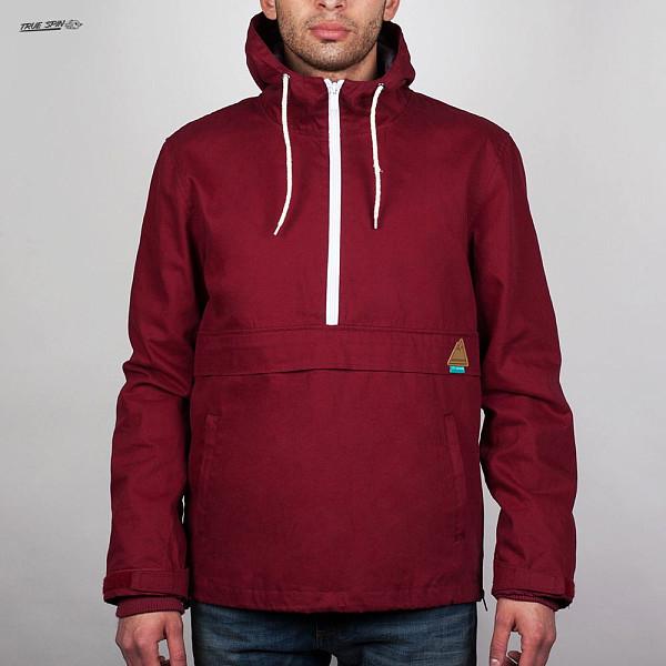 Анорак TRUESPIN City Anorak (Burgundy-Navy, M) куртка парка truespin fishtail burgundy