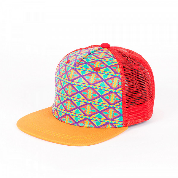 все цены на Бейсболка TRUESPIN Inka (Orange, O/S) онлайн