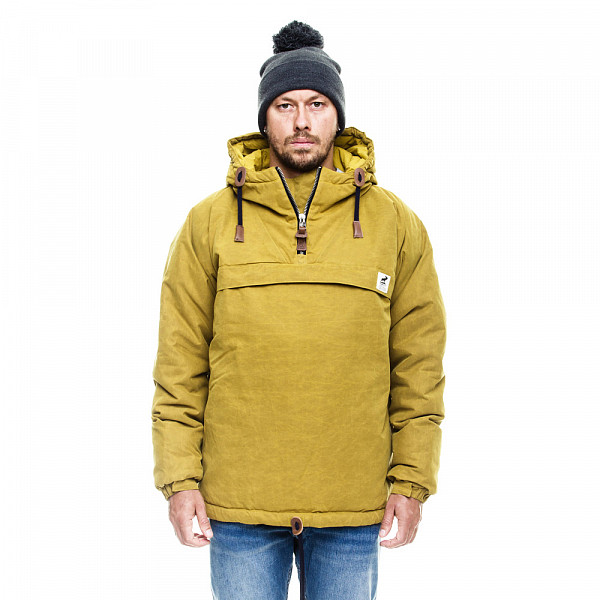 Анорак FAT MOOSE Sailor Anorak AW14 (Olive/Navy-040, XL) fat moose ветровка fat moose модель 280200559