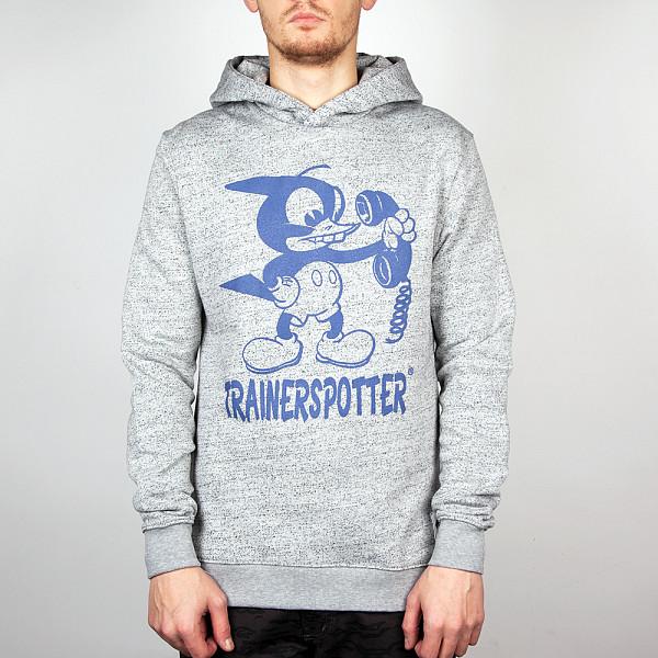 Толстовка TRAINERSPOTTER Mickey Pecker Hood (Grey-A, XL) футболка trainerspotter chilax t shirt black a xl