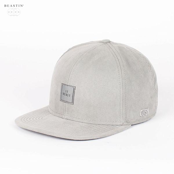 все цены на  Бейсболка BEASTIN Le Beast Snapback Cap (All-Grey-Suede, O/S)  в интернете