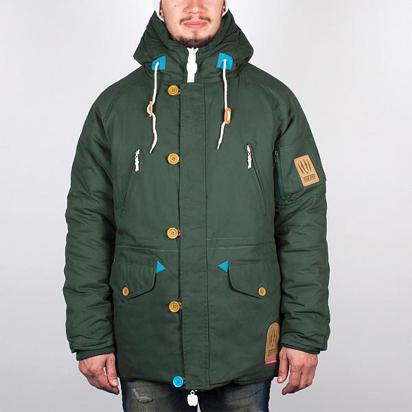 Куртка TRUESPIN Alaska FW14 (Hunter Green/Leopard, 2XL) philips hr 1863 00 viva collection