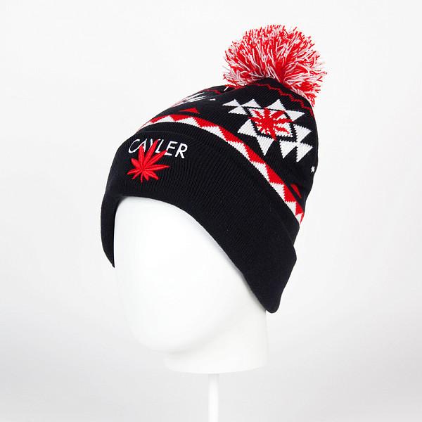Шапка CAYLER & SONS Cayler Pom Pom Beanie (Navy/White/Red) шапка с помпоном k1x bommel beanie black red